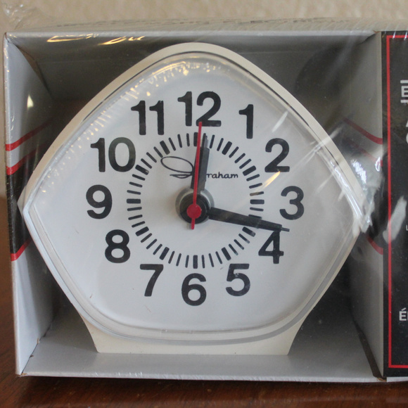 TOASTMASTER INGRAHAM Retro Electric Alarm Clock